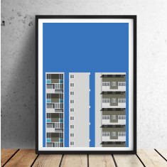 Sulkin House giclee art print