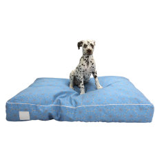Blue Windmill pet floor cushion