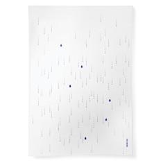Precious Rain linen tea towel