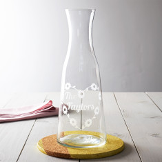 Personalised Daisy Chain Carafe