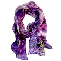 Violet scarf