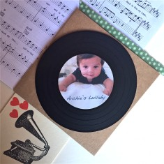 Baby's first Christmas bespoke lullaby recording