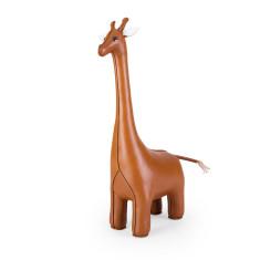 Zuny doorstop classic giraffe tan