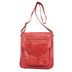 Luxembourg satchel in cherry