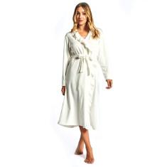 Mae robe in ivory