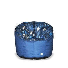 BBBYO Luxury linen armchair beanbag - bloom print