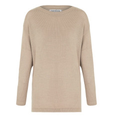 Avignon sweater in Almond with rose gold