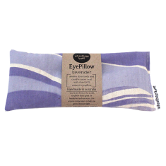 Lavender or rose scented eye pillow in violet
