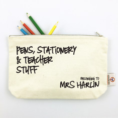 Pens, Stationery & Teacher Stuff Personalised Pencil Case