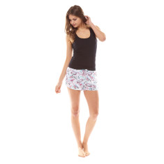 La Cote D'Azur Short & Tank Set Multi & Black