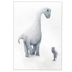 Brachiosaurus Dinosaur Print