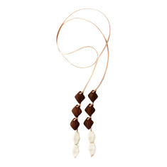 Rhom lariat necklace