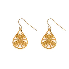 Gold Luna Earrings