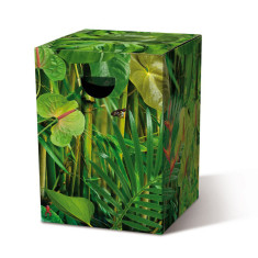 Cardboard Stool Jungle theme