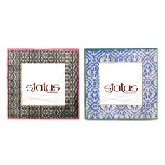 Bone frames in Andalusian patterns (set of 2)