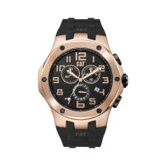 CAT NAVIGO Chrono series watch in Rose Gold & Black plus free gift