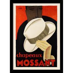 Chapeaux Mossant Print
