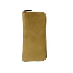 Lyon zip wallet in honey