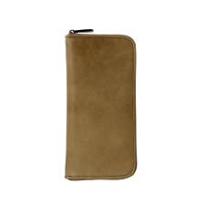 Lyon zip wallet in mocha