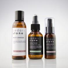 Floral Cleanser, Toner + Moisturiser Gift Set