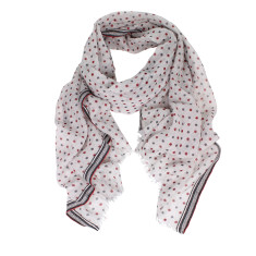 Sasha pure wool spot print scarf (2 colours)