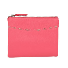 Leather Pocket Wallet in various colours