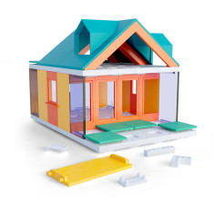 Arckit Mini Dormer Colours - Architectural Model System