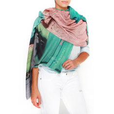 Cashmere R'Mila Wall Printed Scarf