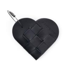 Elskling Key Pouch Black Leather