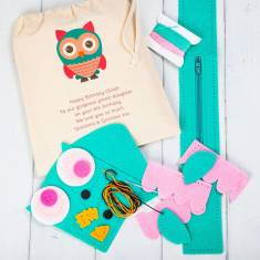 Personalised Create Your Own Owl Purse Kit