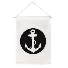 Anchor handmade wall banner