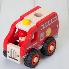 Childrens Wooden Fire Engine