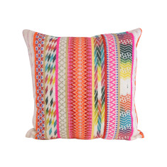 Retro Multi Shades Cushion