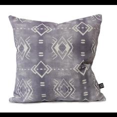 Calpulli Urban Aztec Cushion Cover in Taubmans Violet Verbena