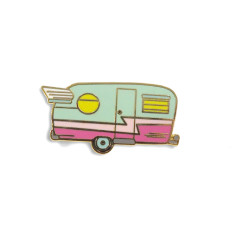 Retro Caravan - Enamel Pin