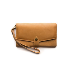 Sophie Classic Collection wallet in caramel