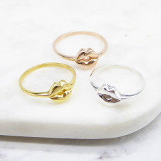Mouth Ring (silver/gold/rose gold)