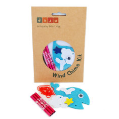 Create your own whale wind chime