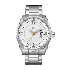 CAT Mossville series Watch in Stainless Steel with White face
