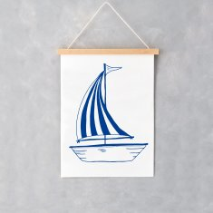 Sailing Boat A4 Print