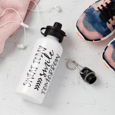 Sweat Today Smile Tomorrow Water Drinks Bottle