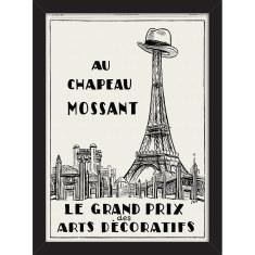 Chapeau Eiffel Print