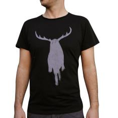 Men's dirty Harry black organic cotton t-shirt