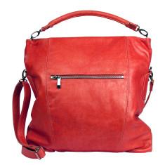 Madison hobo bag in cherry