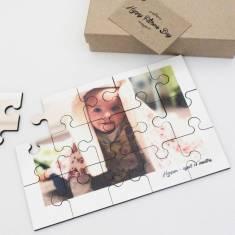 Personalised photo jigsaw puzzle