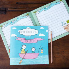 Little words of advice personalised keepsake book