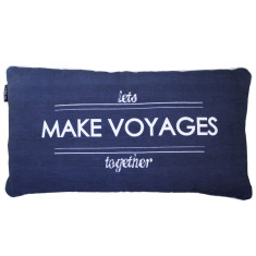 Let's make voyages cushion cover