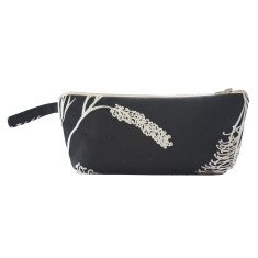 Grevillea makeup purse in black