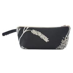 Grevillea makeup purse in black