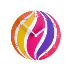 Objectify swirl wall clock